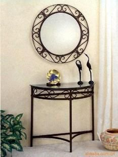 Cheap mirror corner bathroom cabinet, Buy Quality table lamp with clock directly from China mirror platform Suppliers: Continental Iron wrought iron vanity mirror dressing table vanity combination dressing mirror dressing stool minimalist dressing