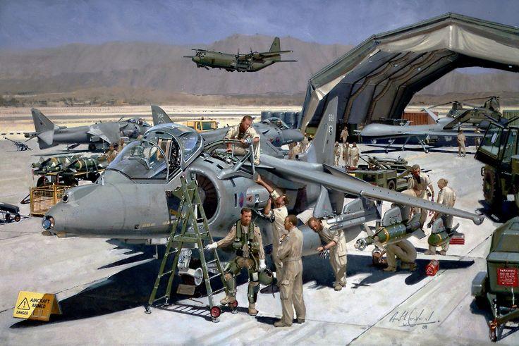 Harriers Kandahar