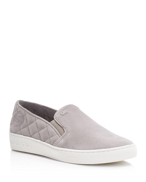 Michael Michael Kors Keaton Quilted Slip On Sneakers