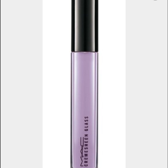 Cinestyle Creamsheen Cinestyle Creamsheen lipgloss is a creamy lavender lipgloss. This was limited edition and will not find it at any store location. No box but never has been used still brand new. MAC Cosmetics Makeup Lip Balm & Gloss