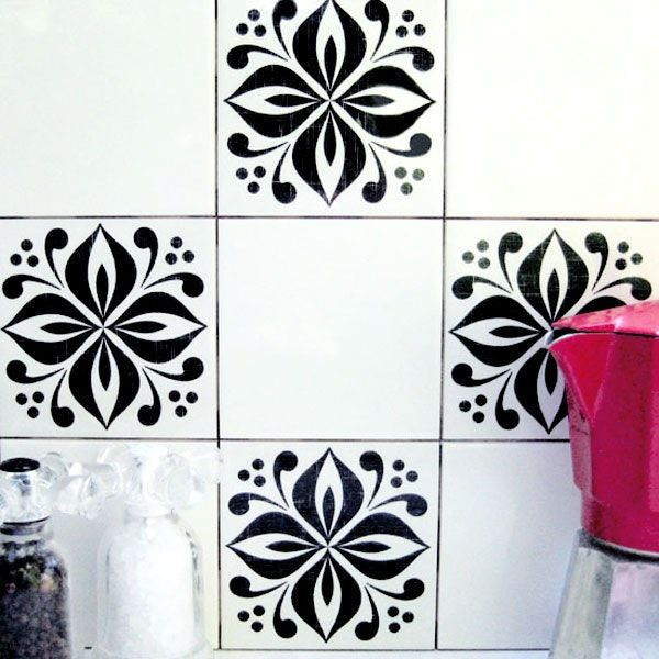 Change Up Your Al Kitchen Tile Temporary Mibo Tattoos From 2jane And Kitchens