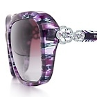 Tiffany & Co. | Item | Tiffany Garden butterfly sunglasses in acetate with Austrian crystals. | United States