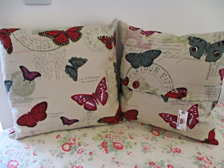 The Flutterby cushion