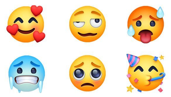 Emojipedia Facebook 3 0 Emoji Changelog Emoji 11 0 New Smileys Emoji Facebook Smileys How To Use Facebook