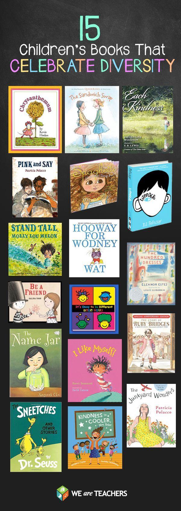 15 Great Children's Books That Celebrate Diversity