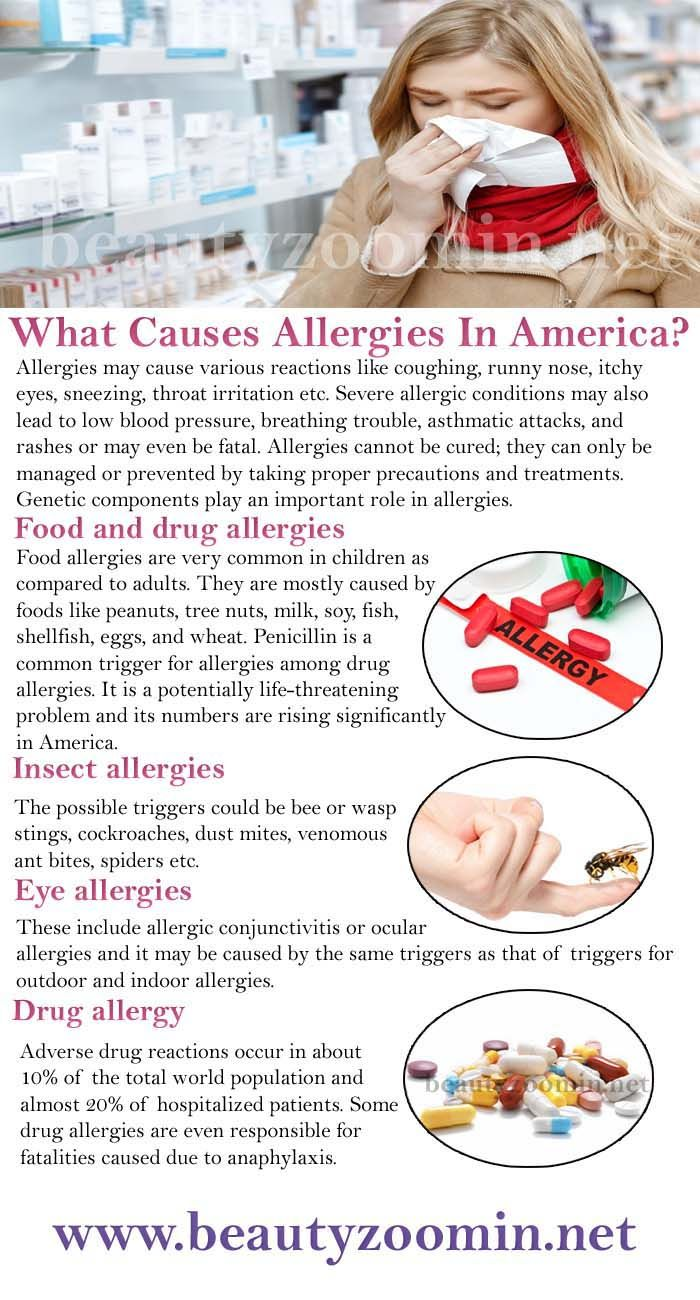 What Causes Allergies In America Genetic Components Play An Important Role What Causes Allergies Runny Nose Throat Irritation