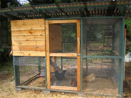 Garden Coop: This Is The Plan We Modified To Build Our Chicken Coop.