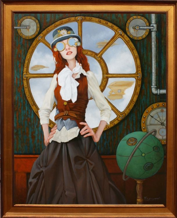 Fred Calleri. Makes me think of Maddie Mae.
