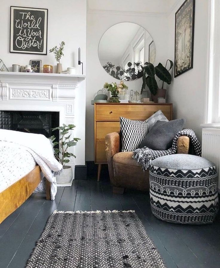 44 Modern and simple ideas for bedroom design