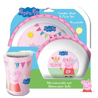 Rosey Kids - Peppa Pig 3pc Table Set , $16.90 (http://www.roseykids.com.au/peppa-pig-3pc-table-set/)