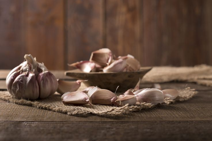 garlic used as home remedy for strep throat