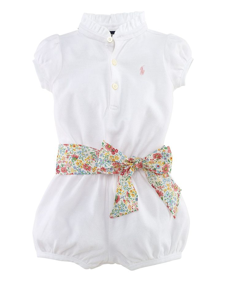 Ralph Lauren baby.  I might have to buy one for every little girl I know!!! So cute <3