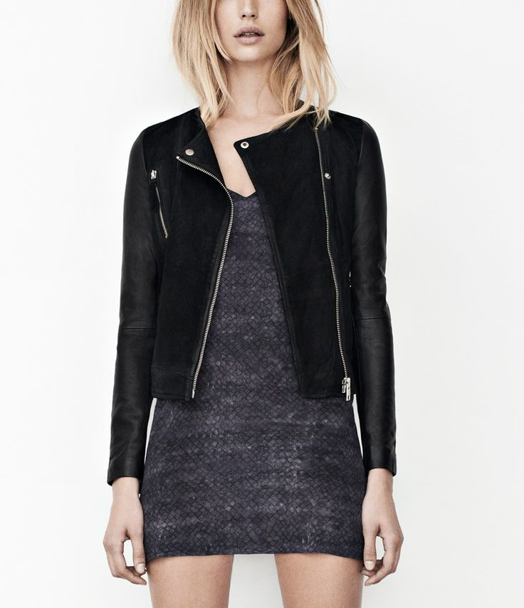 Connell Leather Biker Jacket | Womens Leather Jackets | AllSaints