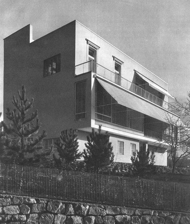 L w beer villa objects brno architecture manual a for Villa wedel
