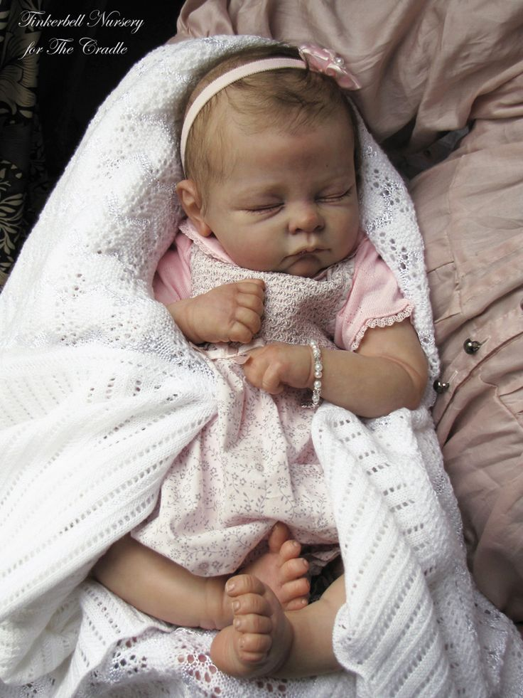 Reborn baby doll I thought she was real when I 1st saw her. LOL