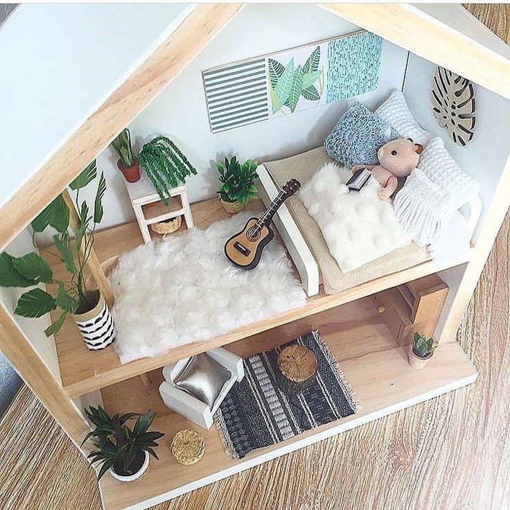 die besten 25 barbie haus holz ideen auf pinterest puppenhaus miniatur tutorials lustigste. Black Bedroom Furniture Sets. Home Design Ideas