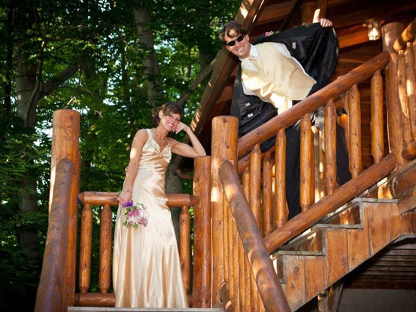 10 best weddings at donna 39 s premier lodging images on for Cabin wedding venues