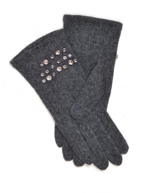 W2017 Rękawiczki damskie ciemnoszare, jasnoszare  - rękawiczki standardowe - TOP SECRET. SRE0212 Świetna jakość, rewelacyjna cena, modny krój. Idealnie podkreśli atuty Twojej figury. Obejrzyj też inne rękawiczki tej marki.