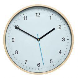 Hübsch / Nástenné hodiny Blue Wood
