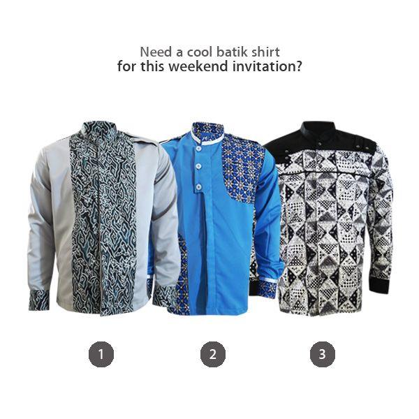 Need a cool batik shirt for this weekend invitation? We have The Optimus Shirt #kemejabatikmedogh http://medogh.com/baju-batik-pria/kemeja-batik-pria