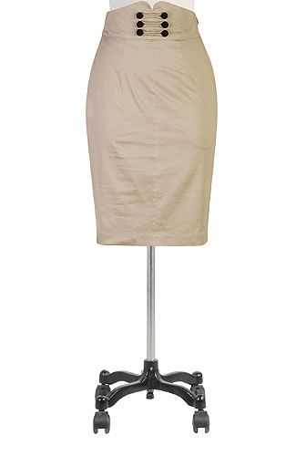 Love this skirt! And it can be custom sized! I need a  few extra inches in the hip!