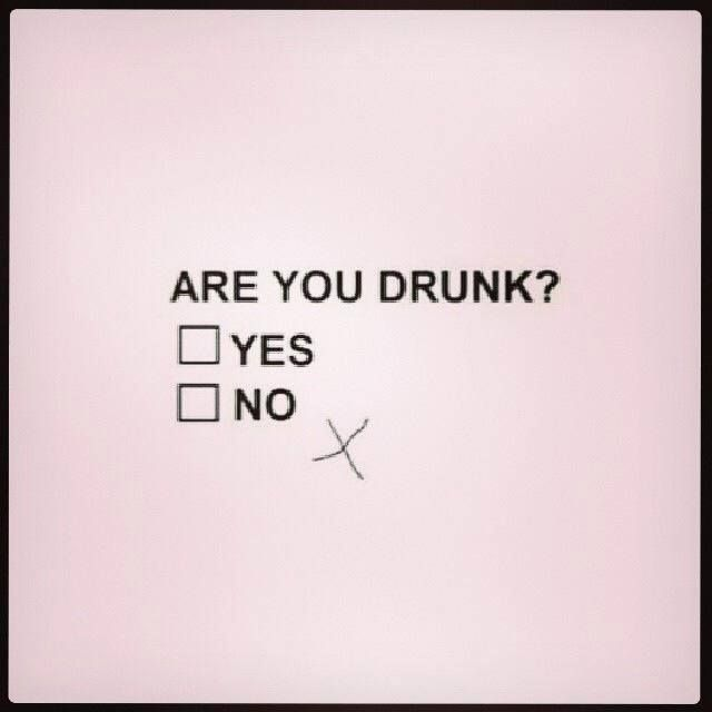 You know your an alcoholic when...someone asks you this silly question every single day.