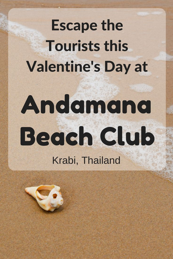 Andamana Beach Club is a public beach club that is a great alternative to the popular and often crowded Ao Nang beach. While you're at Andamana Beach Club you almost feel like you're on your own private beach!