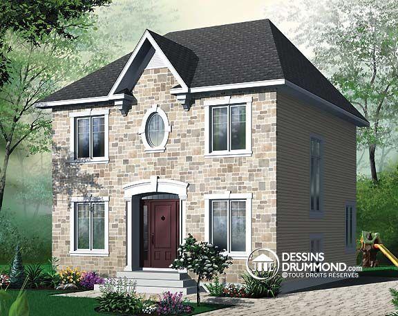 88 best plans de maison style manoir mod les europ en et. Black Bedroom Furniture Sets. Home Design Ideas