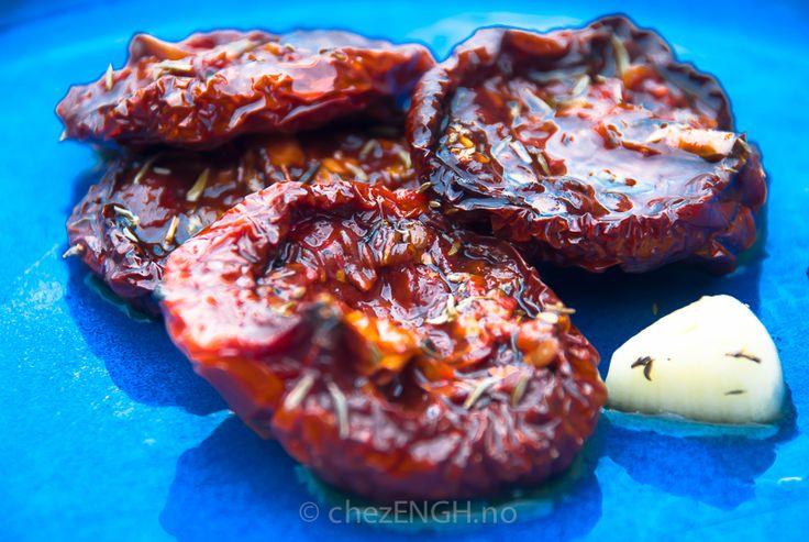 Soltørkede tomater | chezENGH