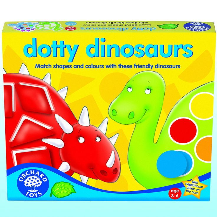 Dotty Dinosaurs - A great dinosaur game for ages 3-6 – Dinosaurs Galore