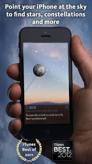 SkyView® Free brings stargazing to everyone, and it's totally free! Simply point your iPhone, iPad, or iPod at the sky to identify stars, constellations, satellites, and more!