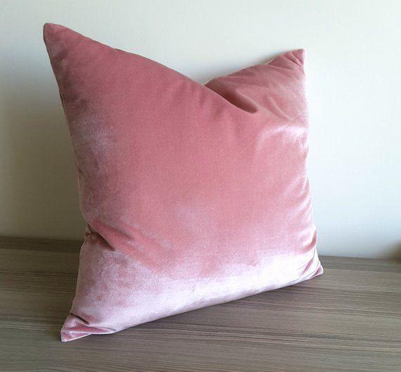 Blush Velvet Pillow Cover Belgium Velvet Blush Pillow Light Pink 46 Liked On Polyvore Featuring Hom Blush Throw Pillow Blush Pillows Pink Accent Pillow