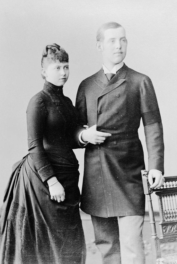 Sofia nipote della Regina Vittoria e Costantino duca di Sparta fidanzati