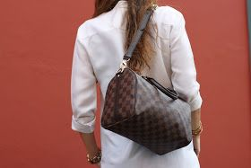YuDressCode: Why did I choose the Louis Vuitton Speedy 25 Bandouliére * Porque é que escolhi a Luis Vuitton Speedy 25 Bandouliére