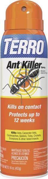 Terro T401 Ant Killer Spray, 16 Oz