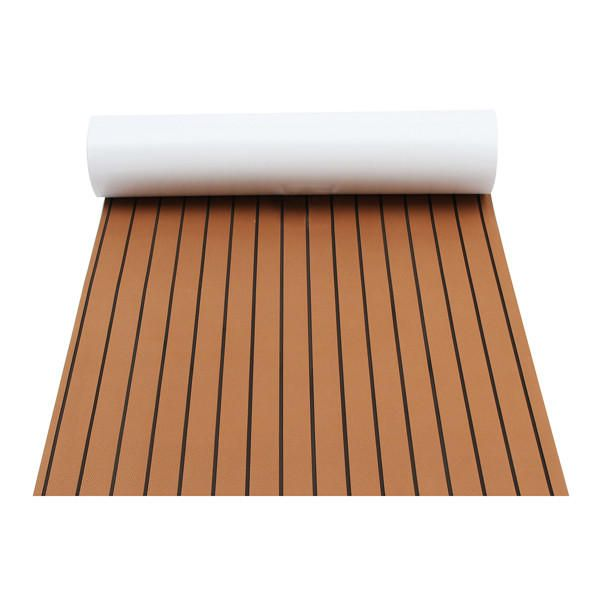 2400x900x6mm Brown Marine Flooring Faux Teak EVA Foam Boat Decking Sheet Sale - Banggood.com