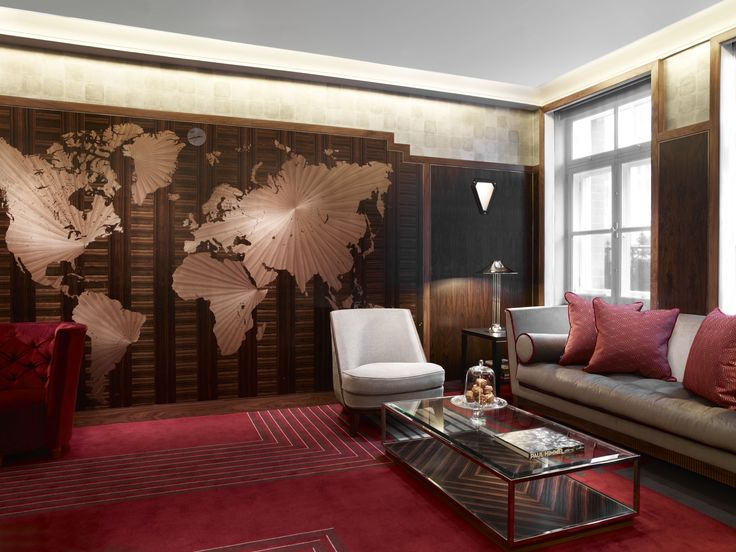 Mayfair, London | Luxury Hotel Design | Library
