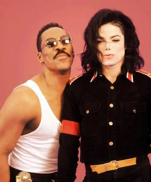 Michael Jackson with Eddie Murphy