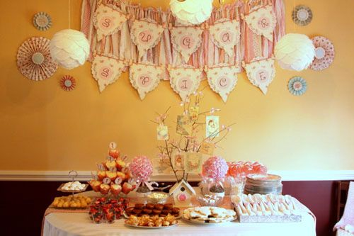 Vintage Shabby Chic Pink Sugar and Spice Baby Shower | Baby Lifestyles