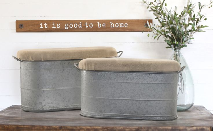Rustic Ottoman Tub for outdoor and indoor