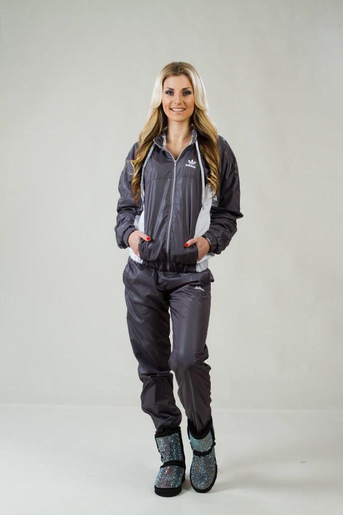 Shiny Adidas Suit And Boots Adidas Tracksuit Adidas