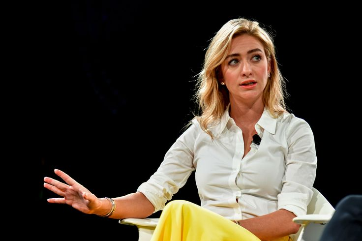 Whitney Wolfe Herd, founder and CEO of Bumble, a dating app that requires women to initiate a match rather than men, had a great support network when she was getting her young company off the ground.