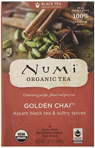 Product review for Numi Organic Tea Golden Chai, Spiced Full Leaf Black Tea, 18 Count Tea Bag -  Reviews of Numi Organic Tea Golden Chai, Spiced Full Leaf Black Tea, 18 Count Tea Bag. Numi Organic Tea Golden Chai, Spiced Full Leaf Black Tea, 18 Count Tea Bag : Subscribe And Save Chai Tea : Grocery & Gourmet Food. Buy online at BestsellerOutlets Products Reviews website.  -  http://www.bestselleroutlet.net/product-review-for-numi-organic-tea-golden-chai-spiced-full-leaf-