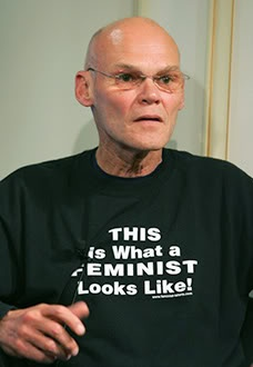 My new crush--James Carville. I apologize in advance to Mrs. Carville, but, damn...