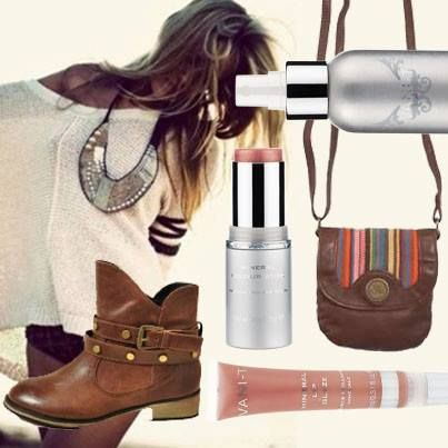 It's festival time and we have your Splendour essentials from Vani-T! Don't leave without your Vani-T Mineral Lip Glaze, creamy Vani-T Mineral Colour Stick, and a spritz of the Vani-T Multi Vitamin Facial Mist. Match it with the perfect bag and some dance ready boots and you're ready to go!