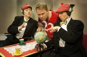 "From Teater Hund's production ""Why not?"" (2011). Photo: Bjarne Stæhr"
