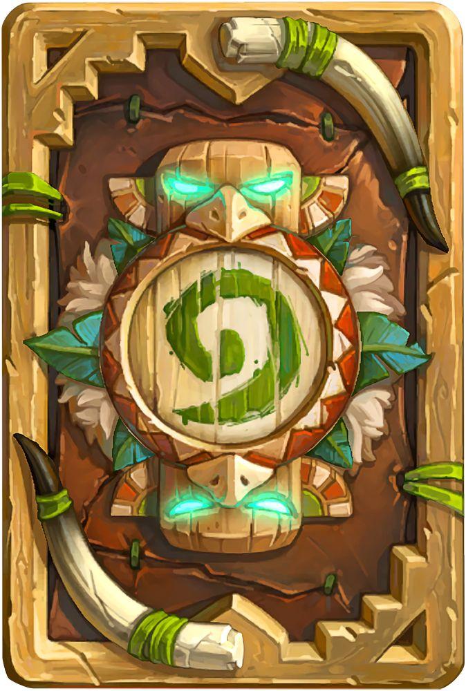 Card Back: Tauren Thunderbluff Artist: Blizzard Entertainment