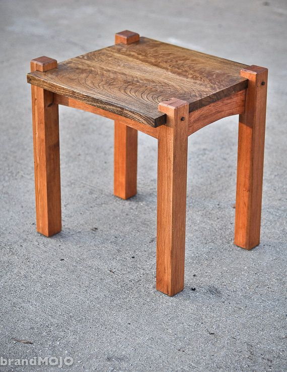 The Monolith Collection End Tables - Set of 2. $700.00, via Etsy.