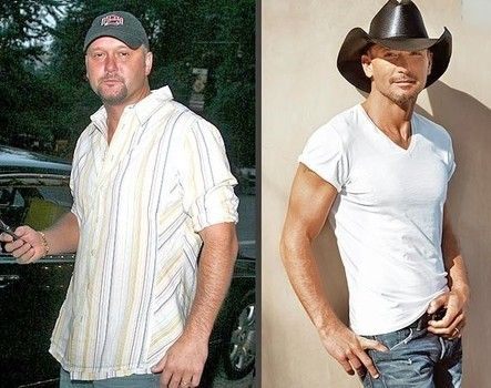 Tim McGraw shows off 8-pack after 40-lb weight loss on low ...