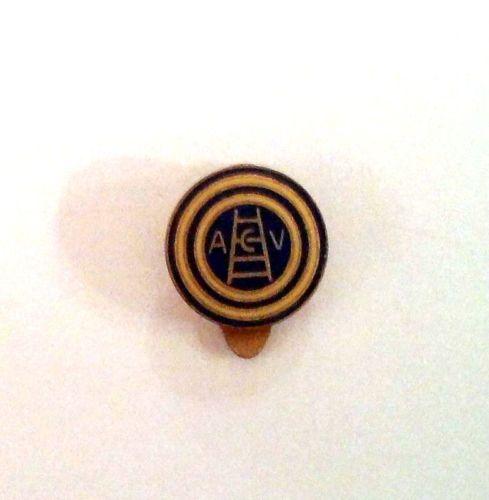 Distintivo di calcio A.C. Verona anni' 50 con piedino